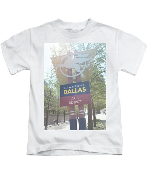 Dallas Arts District Kids T-Shirt