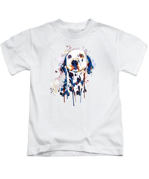 Dalmatian Head Kids T-Shirt
