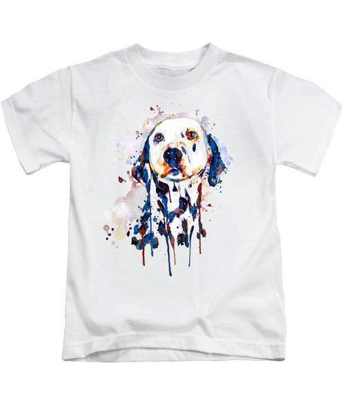 Dalmatian Head Kids T-Shirt