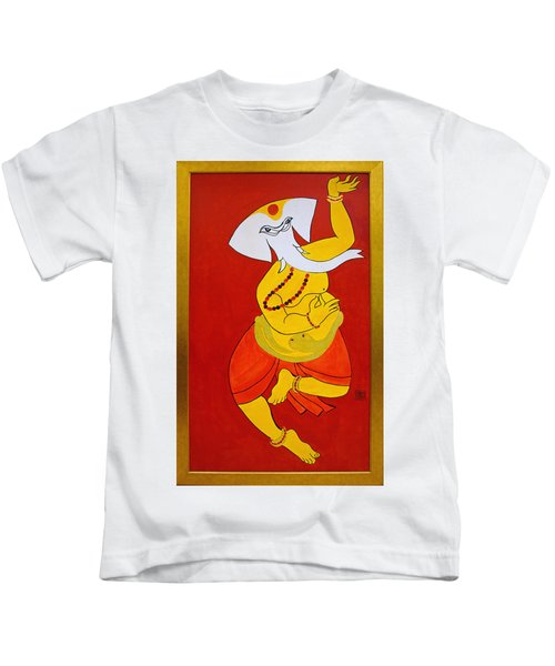 Dancing Ganesha Kids T-Shirt