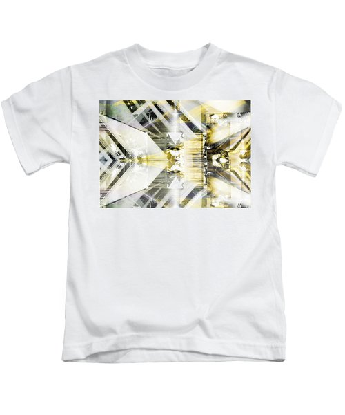 Dancing Lines Kids T-Shirt
