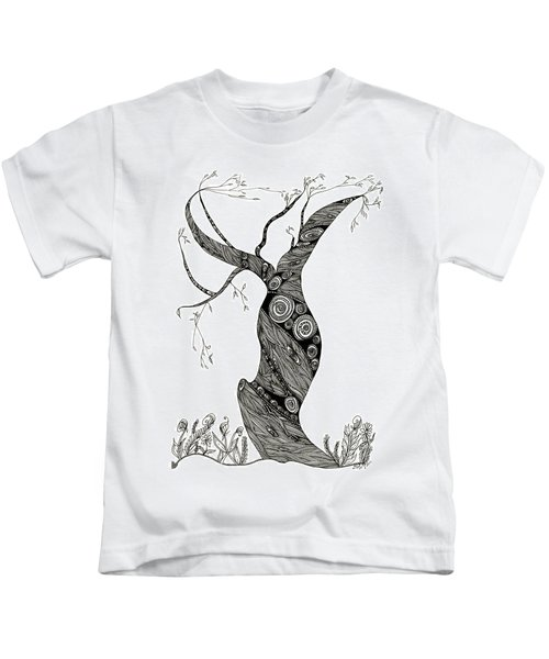 Dancing Tree Kids T-Shirt