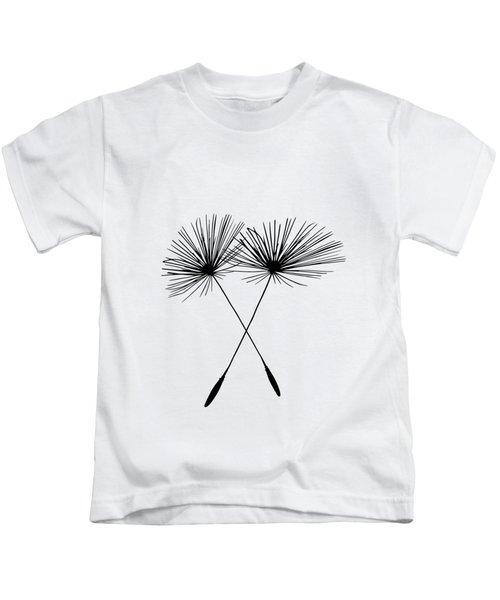 Dandelion Duo  Kids T-Shirt