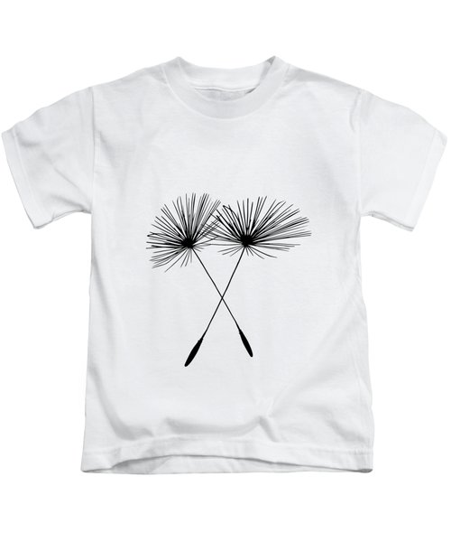 Dandelion Duo  Kids T-Shirt