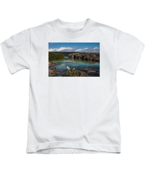 Darwin Bay     Genovesa Island      Galapagos Islands Kids T-Shirt