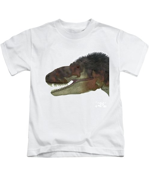 Daspletosaurus Dinosaur Head Kids T-Shirt