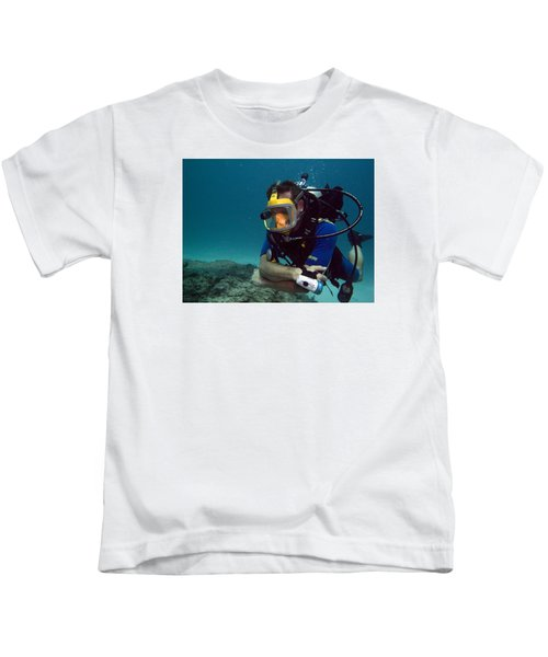 Dave In The Mask Kids T-Shirt