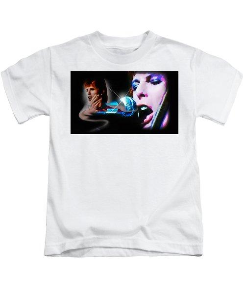 David Bowie  - Jean Genie Kids T-Shirt