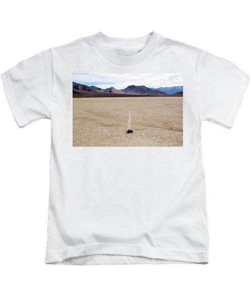 Death Valley Racetrack Kids T-Shirt