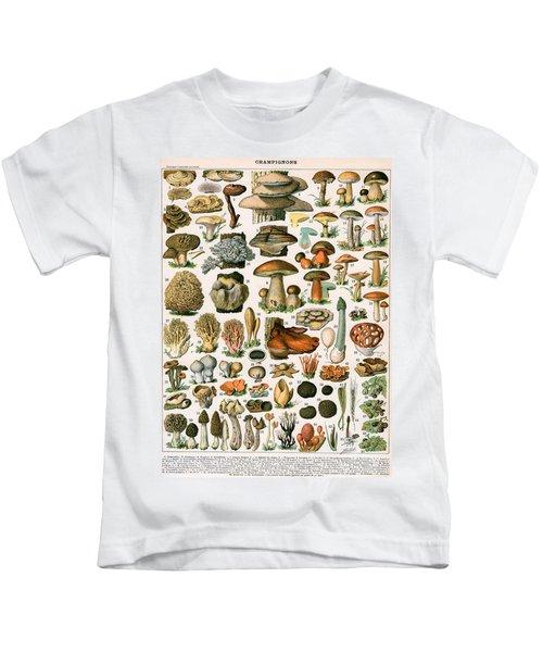 Decorative Print Of Champignons By Demoulin Kids T-Shirt