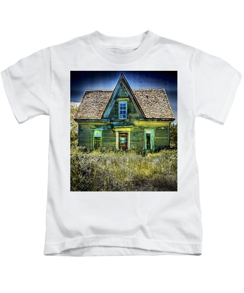 Deer Isle Haunted House Kids T-Shirt