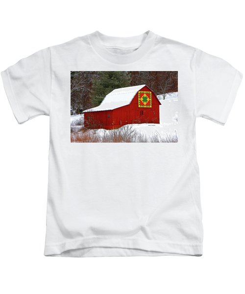 Delectable Mountains Snow Kids T-Shirt