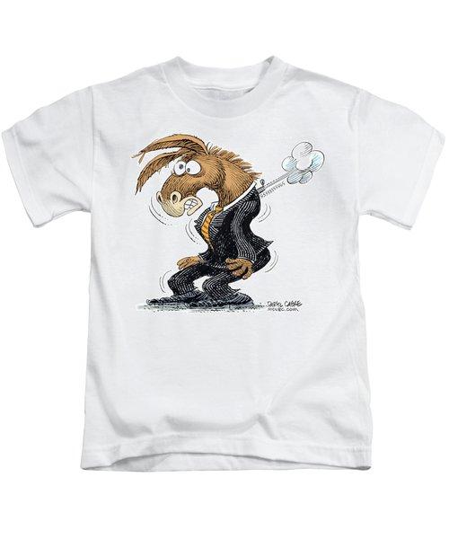 Democrat Deflates Kids T-Shirt