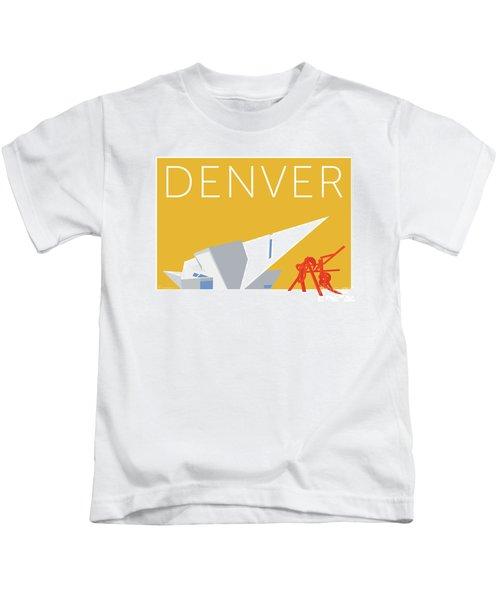 Denver Art Museum/gold Kids T-Shirt