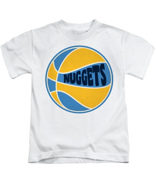 Denver Nuggets Retro Shirt Kids T-Shirt