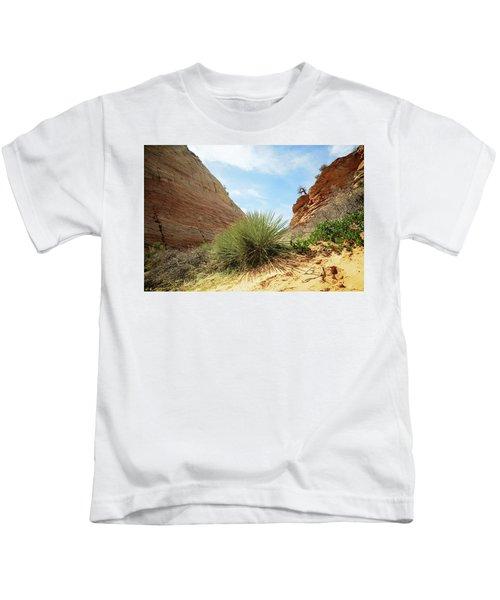 Desert Greenery Kids T-Shirt
