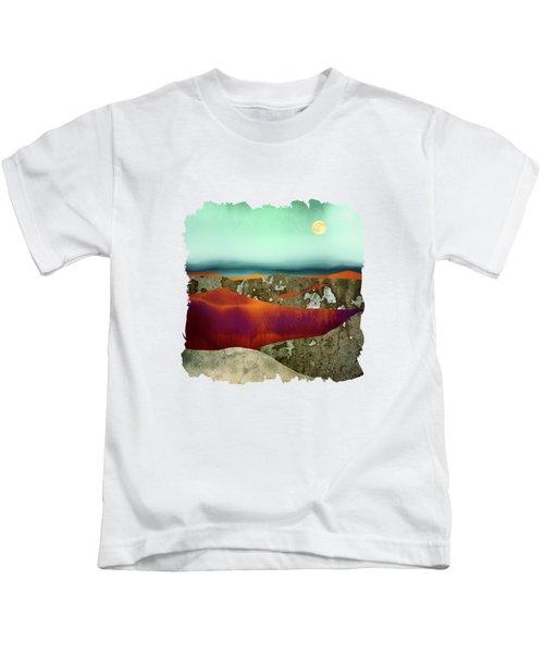 Desert Moon Kids T-Shirt by Katherine Smit