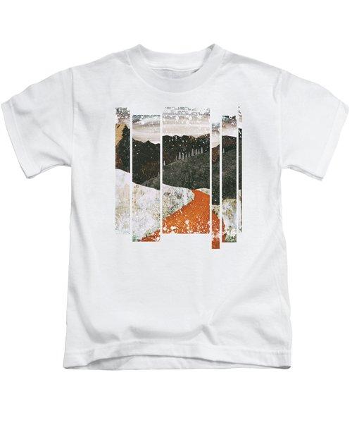 Desert Snow Kids T-Shirt by Katherine Smit