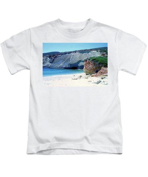 Desolated Island Beach Kids T-Shirt