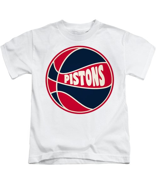 Detroit Pistons Retro Shirt Kids T-Shirt