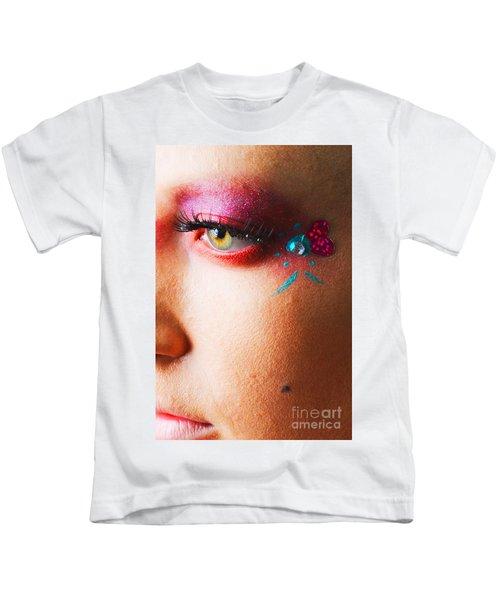 Diamond With Pink Kids T-Shirt