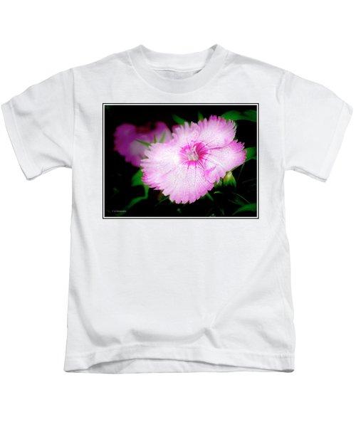 Dianthus Flower Kids T-Shirt