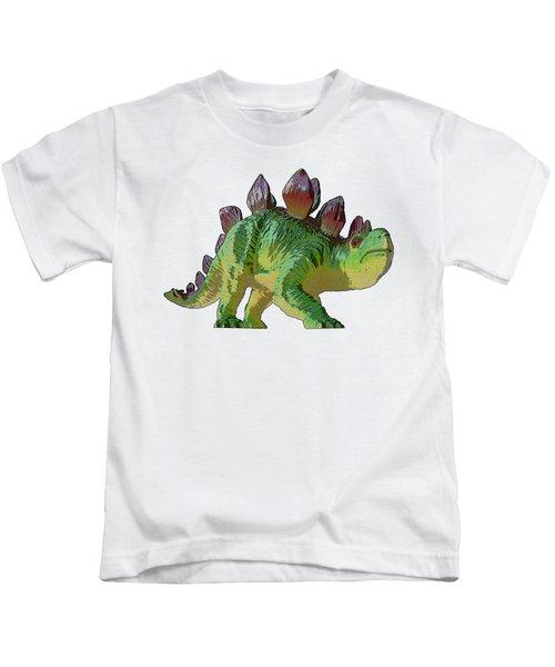 Dino Stegosaurus Kids T-Shirt