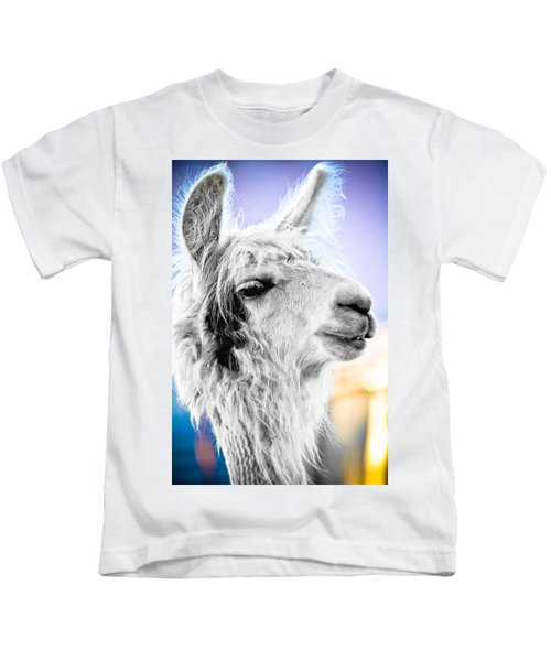 Dirtbag Llama Kids T-Shirt