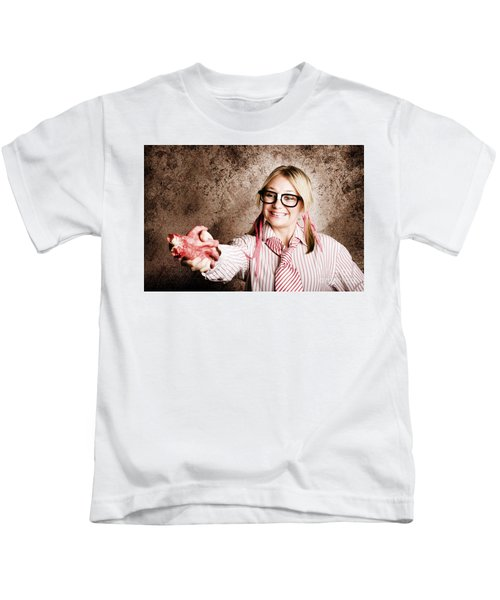 Dishonest Business Woman In Corruption And Fraud Kids T-Shirt