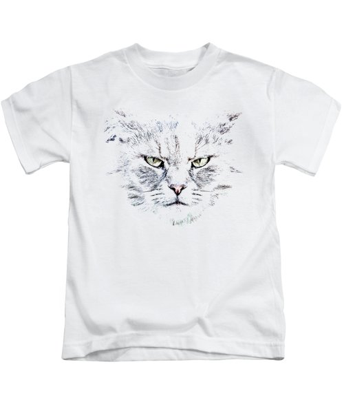 Disturbed Cat Kids T-Shirt