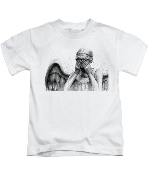 Doctor Who Weeping Angel Don't Blink Kids T-Shirt