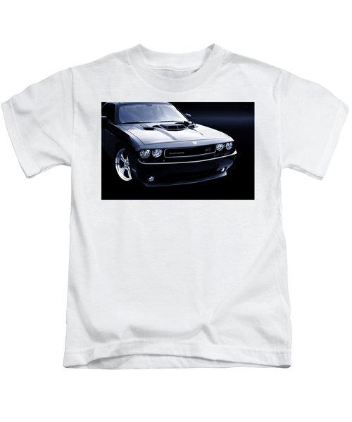 Dodge Challenger Blackbird Sr-71 Kids T-Shirt