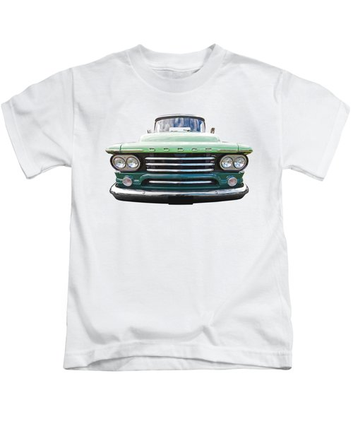 Dodge D100 Sweptside 1958 Kids T-Shirt