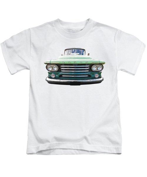 Dodge D100 Sweptside 1958 Kids T-Shirt