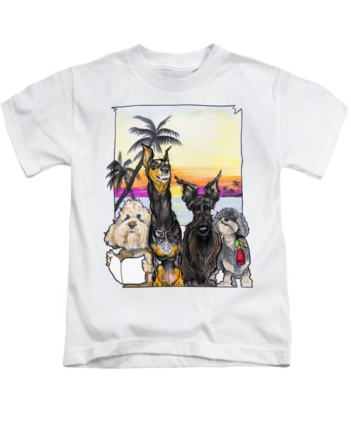 Dog Island Getaway Kids T-Shirt