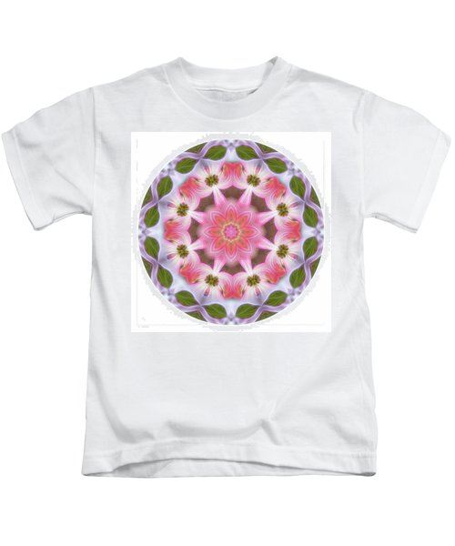 Dogwood Energy Mandala Kids T-Shirt