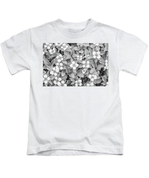 Dogwood In The Rain Kids T-Shirt
