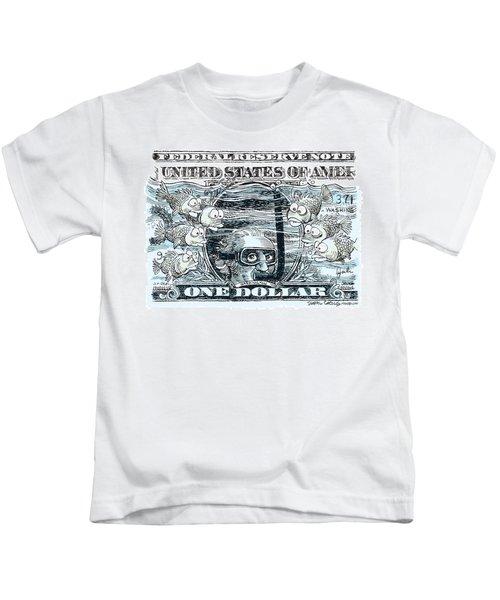 Dollar Submerged Kids T-Shirt