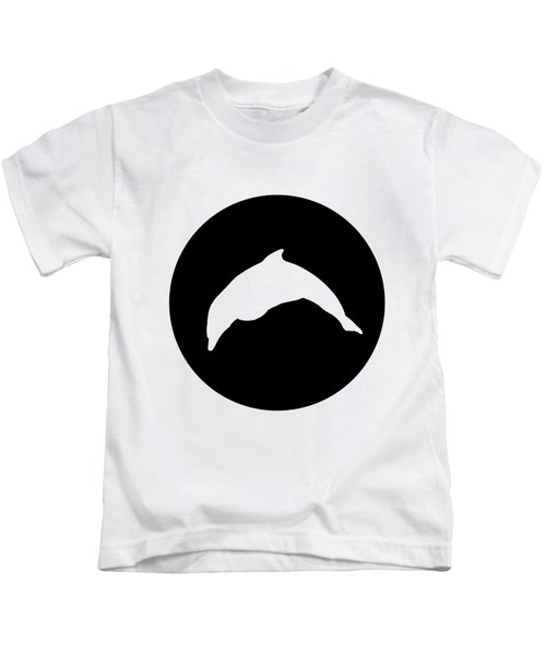 Dolphin Kids T-Shirt by Mordax Furittus