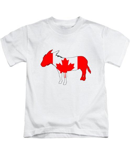 Donkey Canada Kids T-Shirt