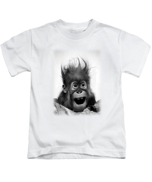 Don't Panic Kids T-Shirt by Miro Gradinscak