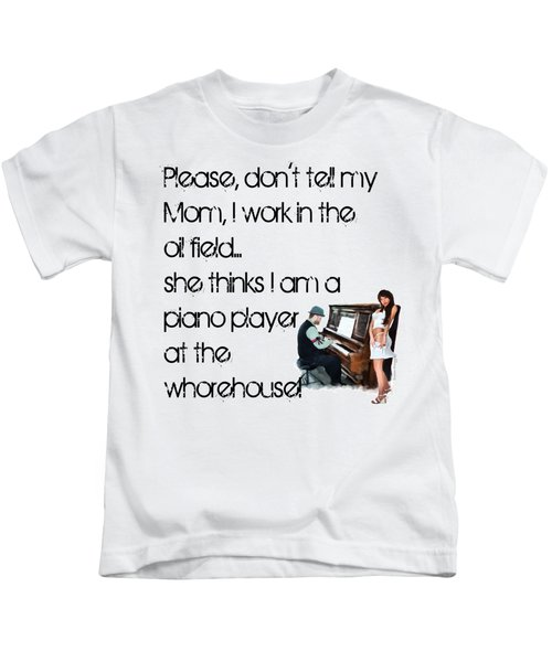 Don't Tell Mom Kids T-Shirt