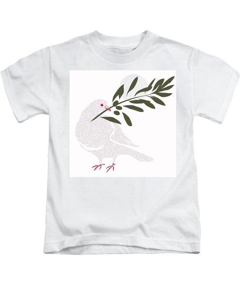 Dove Of Peace Kids T-Shirt