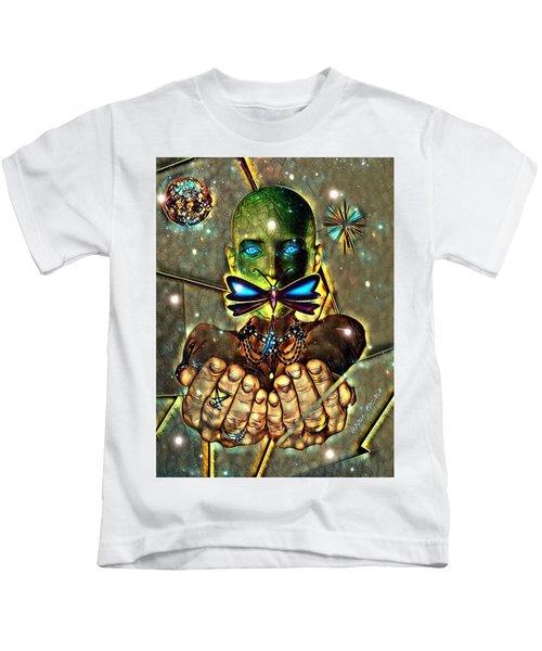 Dragonfly Empath Kids T-Shirt