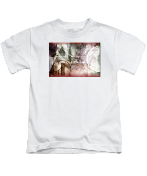 Drawing On A Frozen Lake Kids T-Shirt