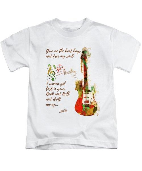 Drift Away Kids T-Shirt by Nikki Marie Smith
