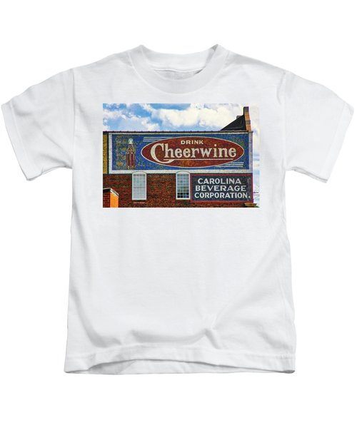 Drink Cheerwine Kids T-Shirt