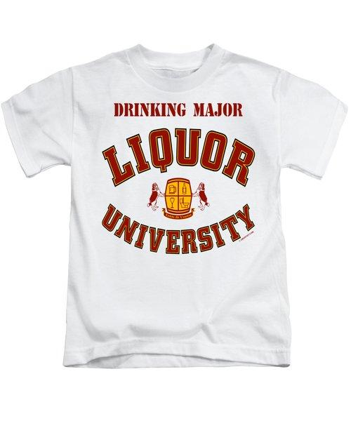 Drinking Major Kids T-Shirt