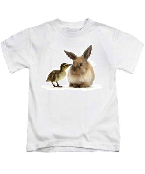 Duck Out Bunny Kids T-Shirt