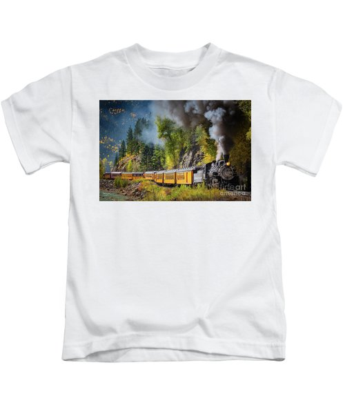 Durango-silverton Narrow Gauge Railroad Kids T-Shirt
